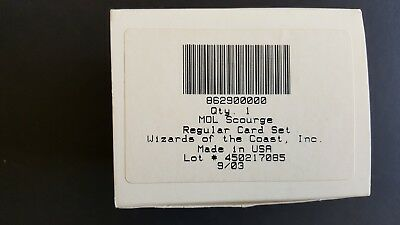 Mtg Mol Scourge Regular Card Set - Mint Unused Collectors