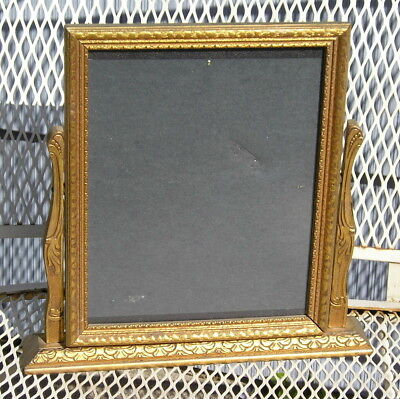 Lovely Victorian Style Art Crafts Gold~Bronze Pressed Toggle Picture Frame 8~10