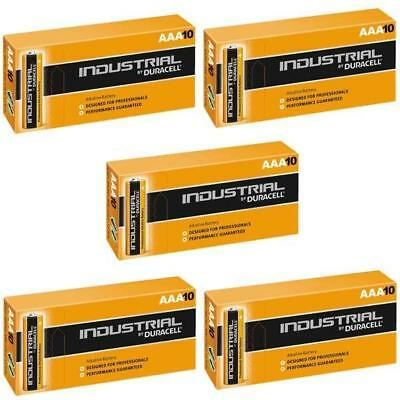 50 AAA Duracell Industrial Procell Alkaline Batteries MN2400 LR03 Battery Mini