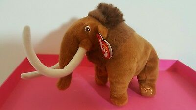 TY  Manny Ice Age Wooly mamoth soft plysh toy