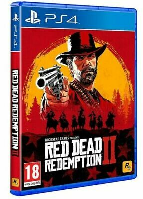 Red Dead Redemption 2 Ps4 Italiano Videogioco Uk Play Station 4 Gioco Western