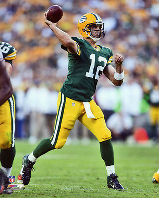 4538486d39ffd Green Bay Packers AARON RODGERS Glossy 8x10 Photo NFL Football Print Poster