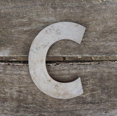 Vintage Marquee Theater Letter C Wagner Sign Service 8 Inch Antique