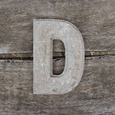 Vintage Marquee Theater Letter D Wagner Sign Service 8 Inch Antique D1