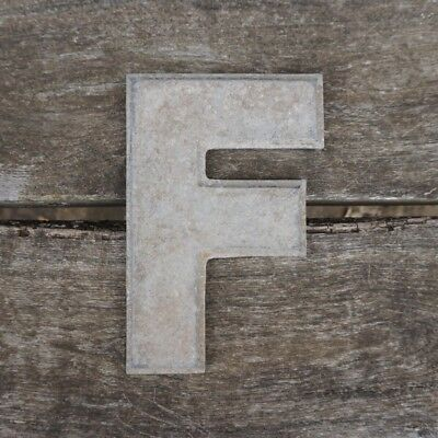Vintage Marquee Theater Letter F Wagner Sign Service 8 Inch Antique F3