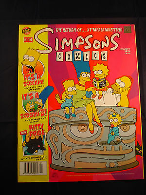 The Simpsons Comic - January 2006 #114
