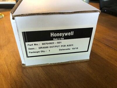 Tested Honeywell Truline Recorder Dr4500 Control Output Cards 30754922-001