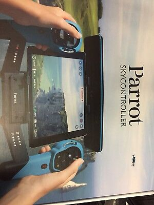 Parrot Skycontroller for Bebop Drone BLUE PRE-OWNED AAN