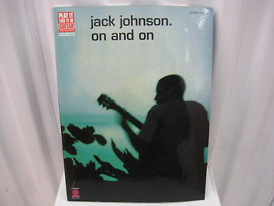 Jack Johnson On and On Sheet Music Song Book Songbook Guitar Tab Tablature