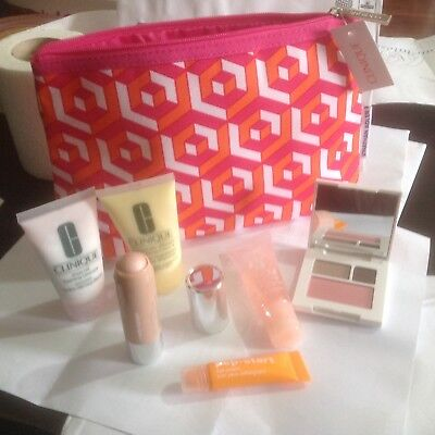 Clinique Bonus Gift Set/6-Items+Cos Bag/HOLIDAYS/BIRTHDAY/PARTY/Festival/Gift