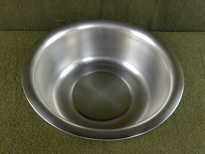 VOLLRATH 9 Quart 304 Stainless Steel Wash Basin Pan 87360