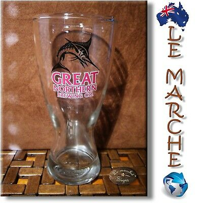 🍺 RARE Collectable GREAT NORTHERN Brewing Company BEER GLASS 425ml AS NEW 🍺
