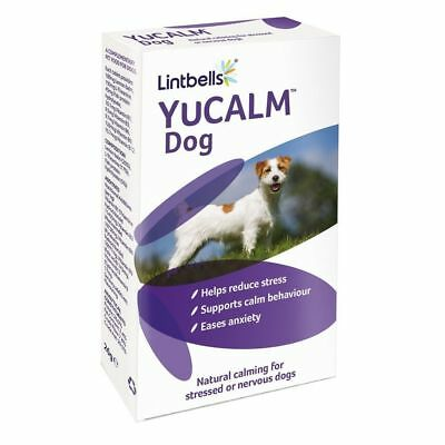 Lintbells Yucalm Dog Calming Supplement for Stress or Nervous Dogs