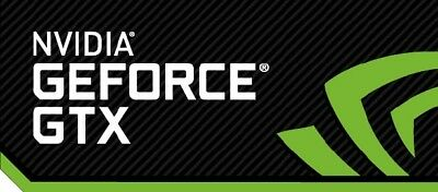 NVIDIA GEFORCE GTX Sticker 35mm x 15mm Case Badge Logo USA Seller