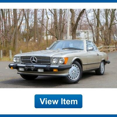 Mercedes-Benz SL-Class 1 Owner Soft Hard Top Carfax Rear Seat Carfax Cali! 1988 Mercedes Benz 560SL 1 OWNER Soft Hard Top Carfax Rear Seat Carfax Cali!
