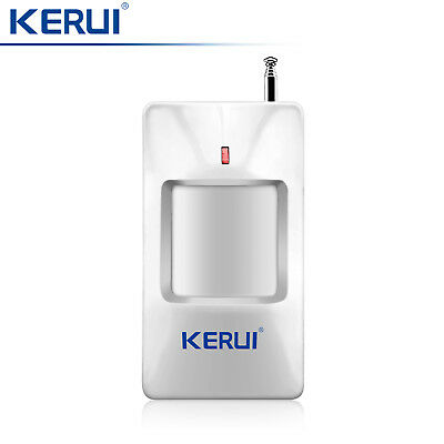 433MHz KERUI Wireless PIR Detector Motion Sensor For Home Intruder Alarm System