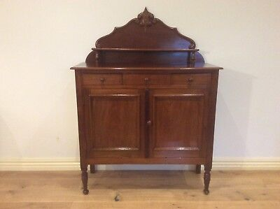 Large Victorian Cedar Meat Safe with Top Drawers. Circa 1860