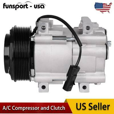 AC A/C Compressor & Clutch 68182 for 06-10 Dodge Ram 2500 3500 5.9L 6.7L Diesel