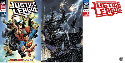 (2018) Justice League #1 + Blank + Jim Lee Variant Cover Set!
