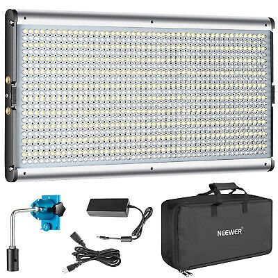 Neewer JYLED-1000S 960 LED Dimmable 3200-5600K Video Light with Carry Bag