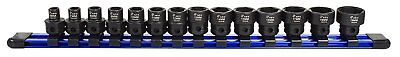 "Astro Pneumatic 78314 3/8"" Drive Nano Impact Sockets - Metric 14 pc"