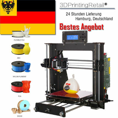 3D Printer  DIY i3 Upgradest High Precision Reprap 3D Desktop Drucker DHL