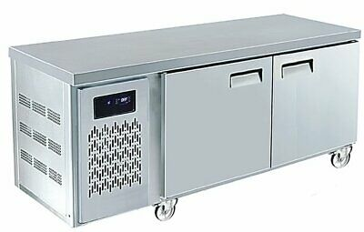 Fsm Refrigeration Series Dcf1200Sd U Series Dual Under Counter Chiller & Freezer