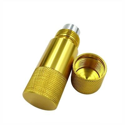 5 Parts Aluminum Pollen Press Tobacco Compressor Works With Herb Weed New