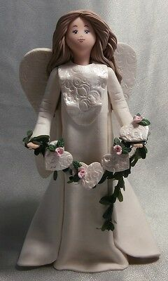 "Kneeded Angel Figurine ""love"" 6903  Brand New With Box"