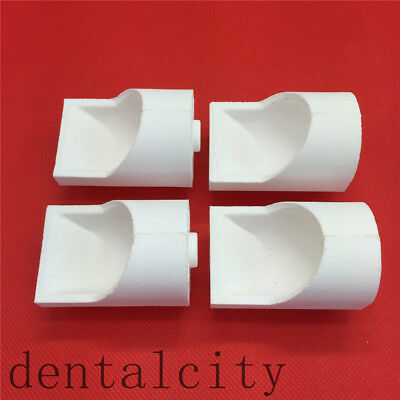 New Dental Lab Materials Vertical Cup Zirconia Crucible For Casting Metal Alloy