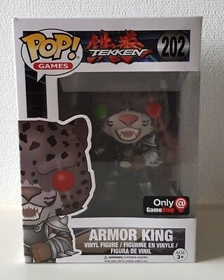 Funko POP! - Games: Armor King #202 - Tekken