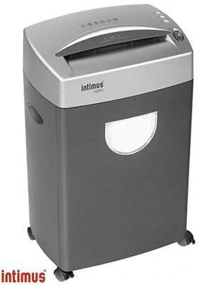 Intimus 1000SC 4mm Strip Cut Office Shredder 121 Sheets/Min 2 Year Warranty