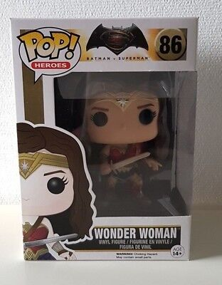 Funko POP! - Heroes: Wonder Woman #86 - Batman vs. Superman