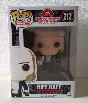 Funko POP! - Movies: Riff Raff #212 - The Rocky Horror Picture Show
