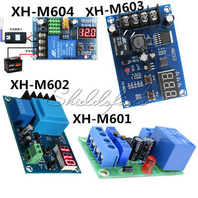 12V/24V 6-60V Battery Charging Control Board Charger Power Switch Supply Module