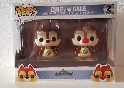 Funko POP! Games: Chip & Dale 2Pack - Kingdom Hearts