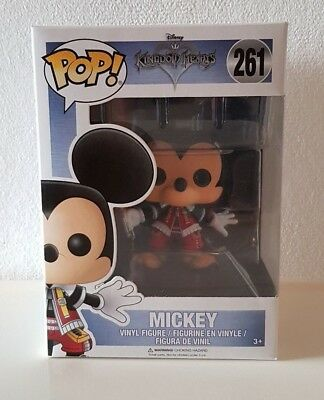 Funko POP! Games: Mickey #261 - Kingdom Hearts