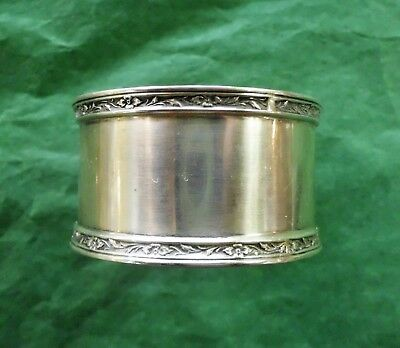 """Towle Sterling Silver Napkin Ring 1 3/4"""" Diameter"""