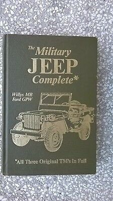 Jeep --  Military Jeep  Complete --