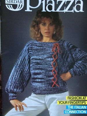 Vintage Sirdar Knitting Pattern Booklet Ladies Sweater Jumper Dress