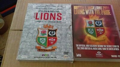 rugby dvd bundle the lions