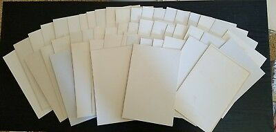 50 USED ACID FREE COMIC BOOK BACKER BOARDS MODERN SILVER AGE sleeve marvel DC ,