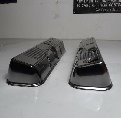 Rover V8  Rocker Cover Gems Powder Coated Silver Land Rover Kitcar Classic