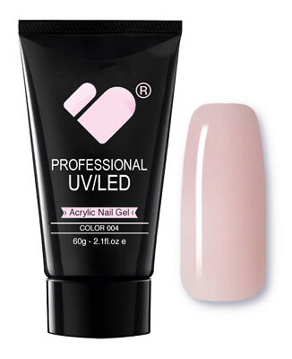 AG004 Light Pink VB Line Nail Acrylic Builder Gel 60g - UV/LED Professional Gel
