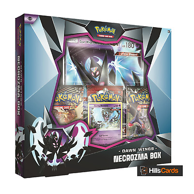 Pokemon: Dawn Wings Necrozma Collection Box: Inc 3 Booster Packs + Promo Cards