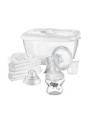 Tommee Tippee Closer To Nature Manual Breast Pump Breastmilk New Breastfeed Baby