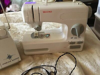 1 Sewing Machine And 1 Overlock Machine