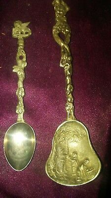 Silver Or Pueter Italy Spoons