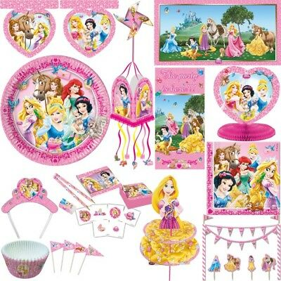 Disney Princess Kinder Geburtstag Party Deko Set Dekoration Prinzessin Rapunzel