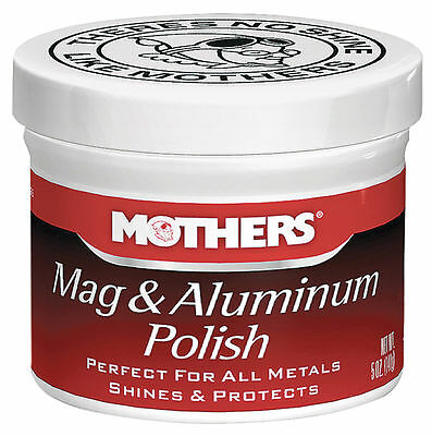 Mother's Mag and Aluminium Polish 5oz genuine Mothers Metal polish Free uk P&P